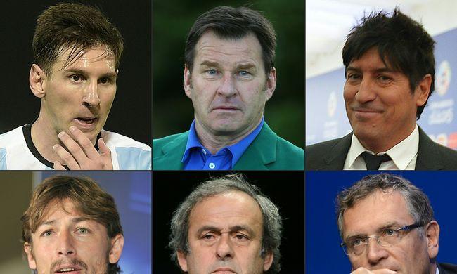 Messi, Platini, Zamorano - mely sportolók érintettek az offshore-botrányban?