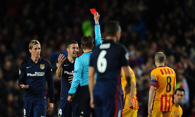 A bírót szidja az Atlético edzője a vereség után