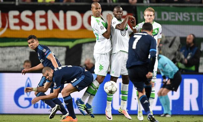 Szenzáció, a Wolfsburg legyőzte a Real Madridot a BL-ben!