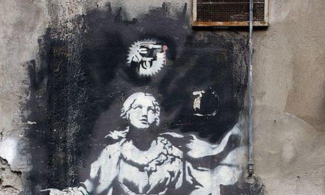 Megvédik a világhírű művész graffitijét a nápolyiak