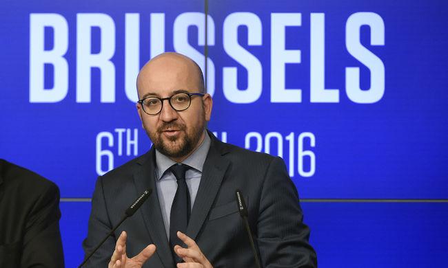 Belga kormányfő: a terrortámadás ellenére Belgium nem bukott meg