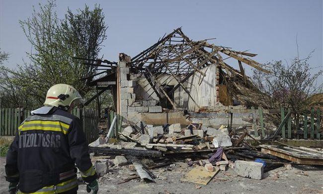 Halottat találtak a gázrobbanás helyszínén a kútban