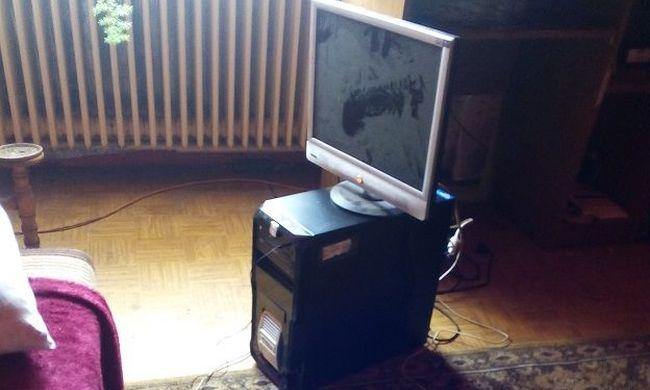 Iskolából lopott számítógépet