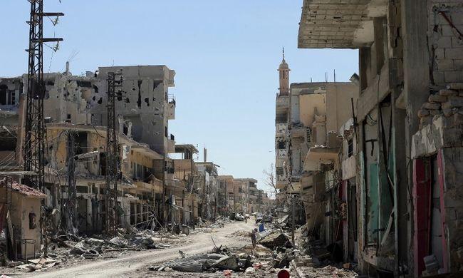 Törökök támadják a szír terroristákat