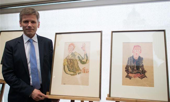 Két Schiele-rajzot kapott vissza a tulajdonos örököse egy bécsi múzeumtól