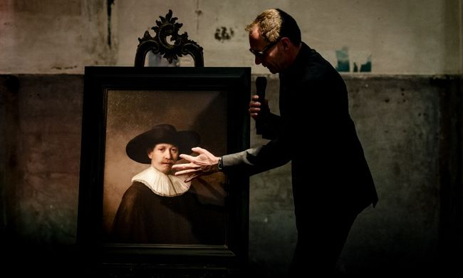 Rembrandt-képet festett egy számítógép