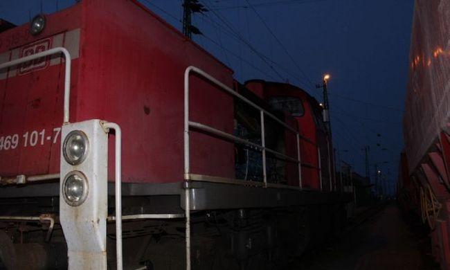 Vonatokról lopta a gázolajat