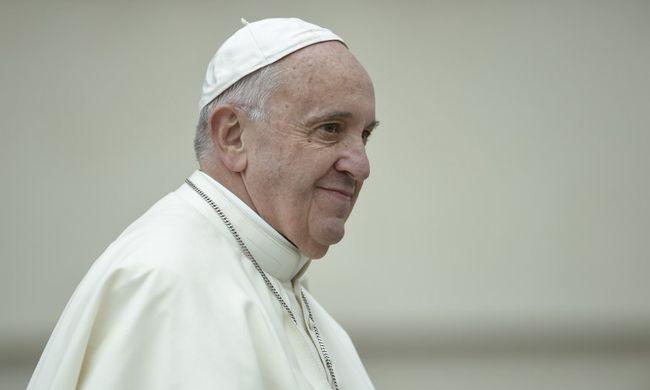 Ferenc pápa filmsztár lesz, de nem kapott nehéz szerepet