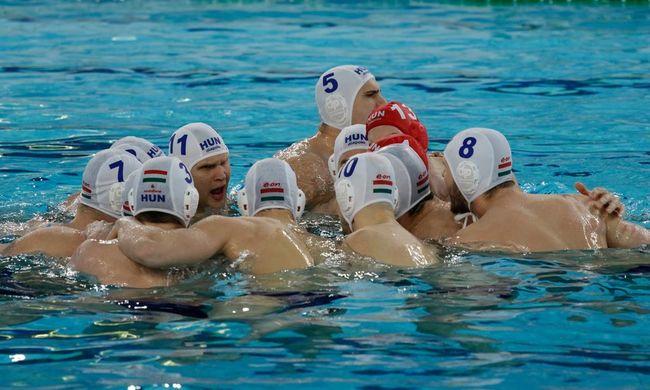 Aranyérmet nyert a férfi vízilabda-válogatott!