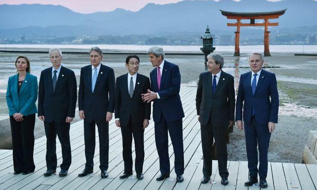 G7 külügyminiszteri találkozó Hirosimában: bocsánatot kér-e Kerry?