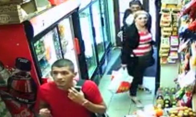 Ezeket az áruházi tolvajokat keresi a rendőrség