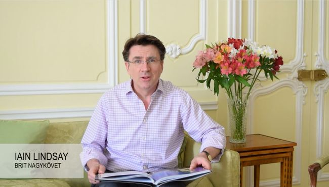 Így szaval József Attila-verset a brit nagykövet - videó