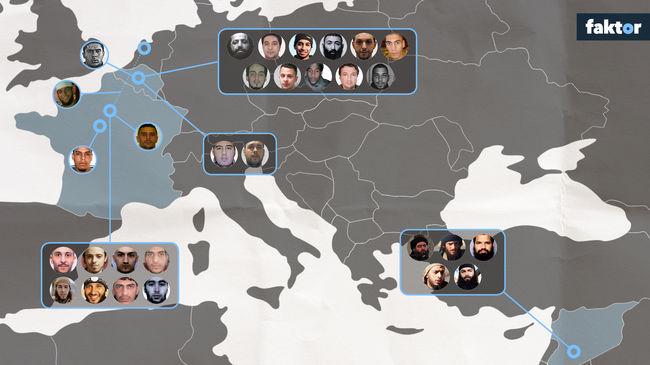A terror hálója - így épült fel a párizsi és brüsszeli merénylők csoportja