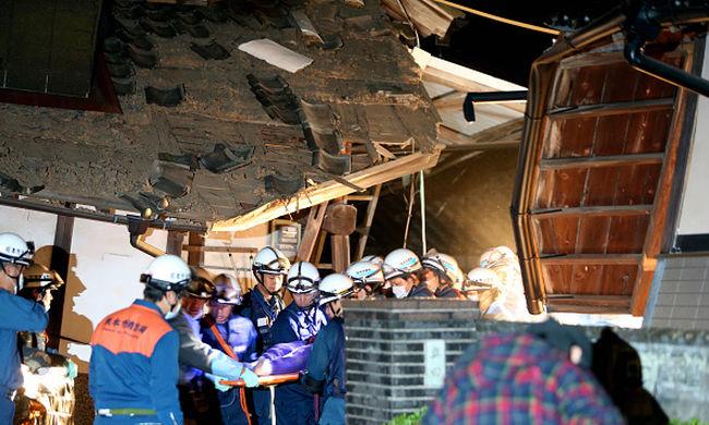 Megint atomerőmű közelében rengett a föld, eddig 9-en haltak meg Japánban