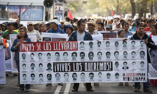 Rendőrök adták a bűnözők kezére a 43  mexikói diákot - mindet megölték