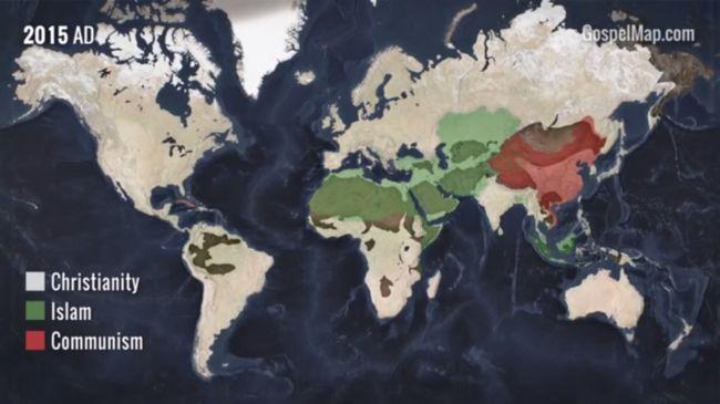 Így változott a világ vallási képe kétezer év alatt - videó