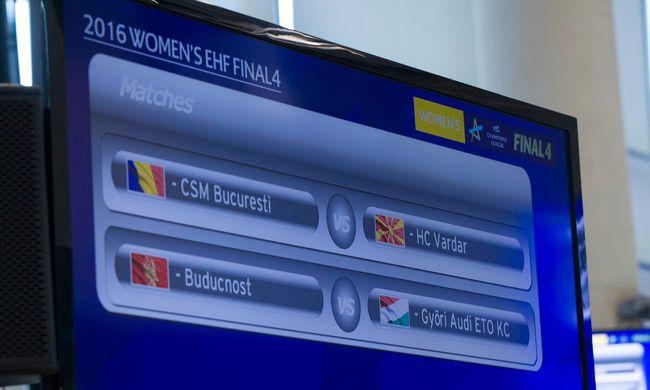 A legerősebb ellenfelet kapta a Győr a Final Fourban