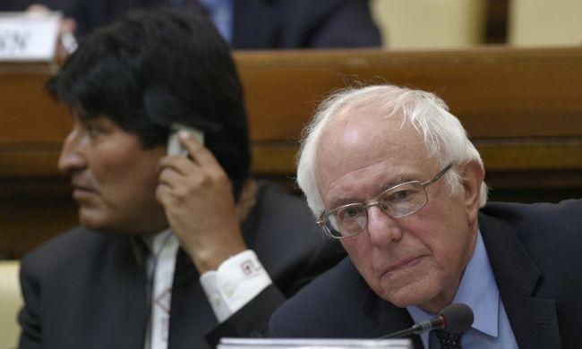 Bernie Sanders szerint erkölcstelen és fenntarthatatlan a gazdasági rendszer