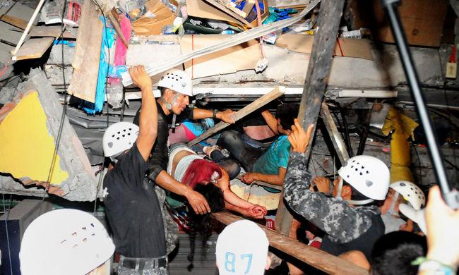 Káosz és feszültség: már 272 halott és fosztogatás a földrengés után
