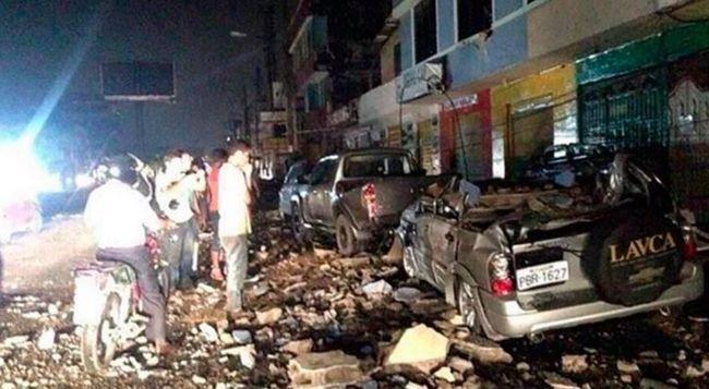 Ilyen volt átélni az ecuadori földrengést - videók