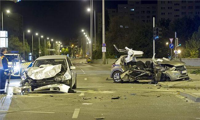 Nagyon súlyos baleset történt Budapesten a Flórián téren