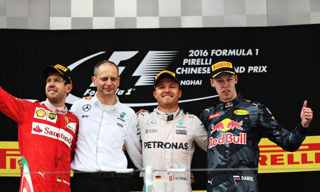 Sorozatban harmadszor nyert Rosberg