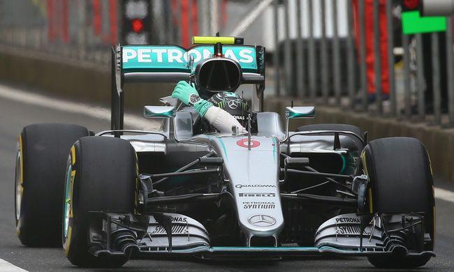 Rosberg Sanghajban is nyert