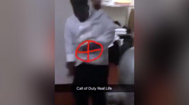 Valóságban játszották a lövöldözős számítógépes játékot - videó