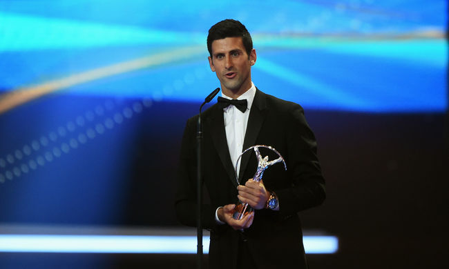 Sportolói Oscar-díjat kapott Serena Williams és Novak Djokovic