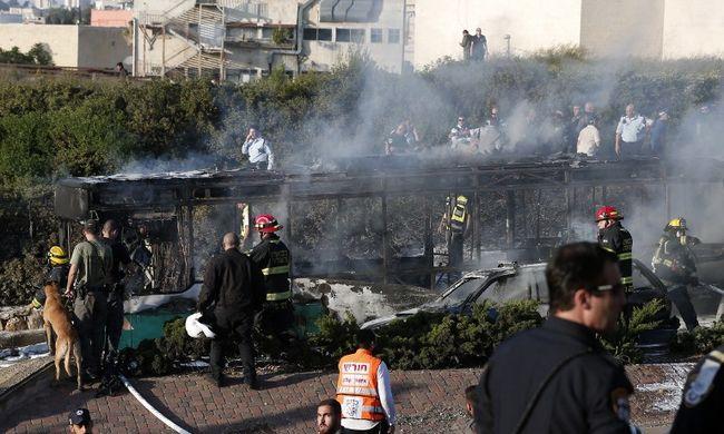 Terrortámadás történt Jeruzsálemben