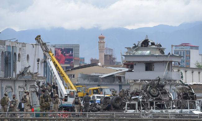 A tálibok vállalták a kabuli terrortámadást