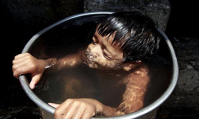 Ötvenegy fokos forróság volt Indiában