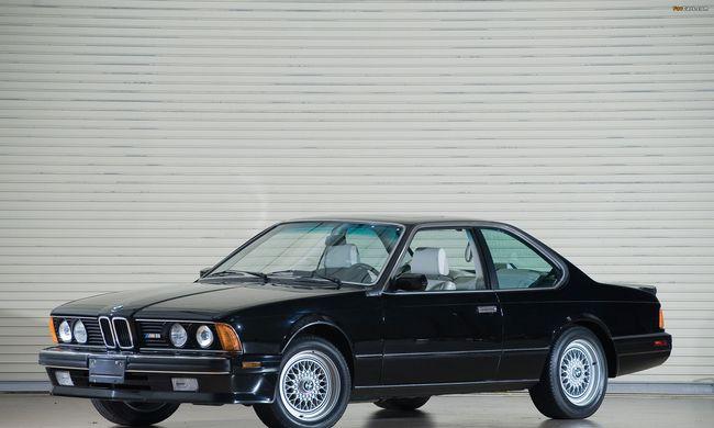 A tíz legmeghatározóbb BMW modell: BMW E24