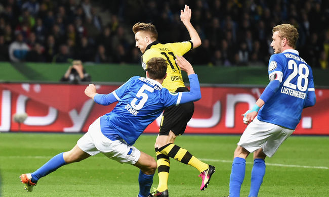 Dárdai csapata 3-0-ra kikapott, nem került be a Hertha a kupadöntőbe