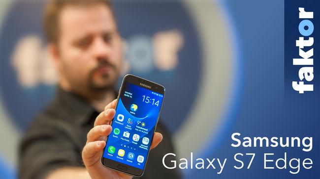 Boldogan simítottuk a széleit is - Samsung Galaxy S7 Edge teszt videóval