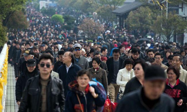 Már 1,37 milliárd ember él Kínában
