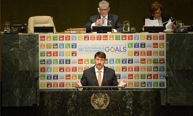 Áder az ENSZ-ben: a vízbázisok megvédése nélkül nincs fenntartható fejlődés