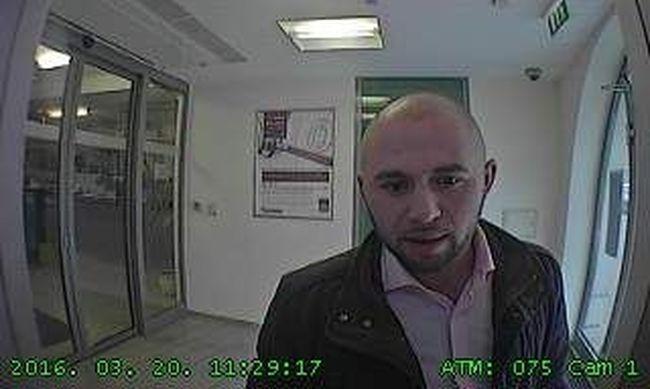 Egyenesen a kamerába nézett a tolvaj, jól felismerhető kép készült róla