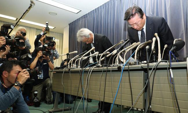 Lerohanták a rendőrök a Mitsubishi irodáját a hamisított adatok miatt