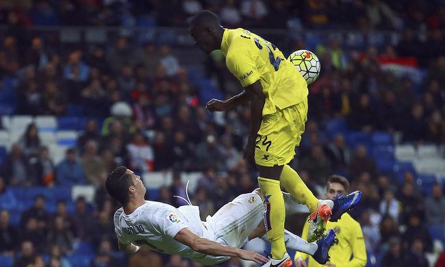 Ollózni akart Ronaldo, megsérült, nem játszhat a hétvégén