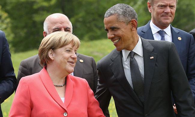 Obama: Merkel Európa őre