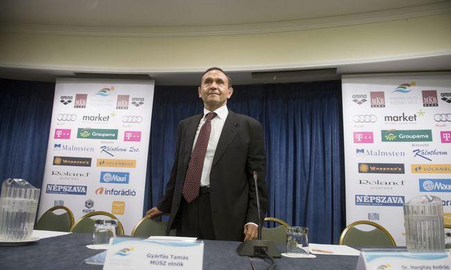 Gyárfásról szavaztak: marad az úszószövetség elnöke