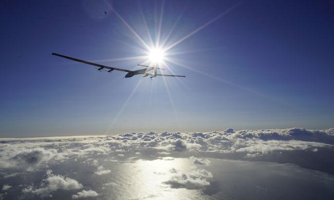 1100 kilométert repült üzemanyag nélkül a napelemes repülő
