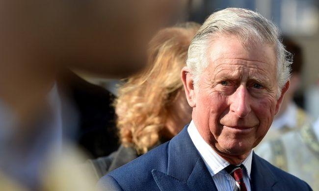 Színésznek állt Károly herceg - videó
