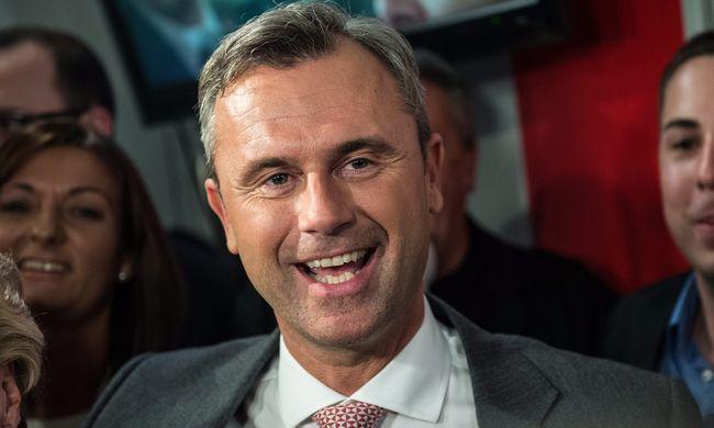 A szabadságpárti jelölt lett az első az osztrák elnökválasztáson