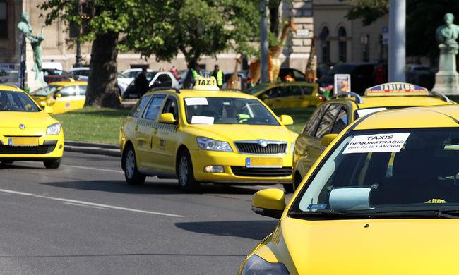 A próbakör után felszívódott a taxival