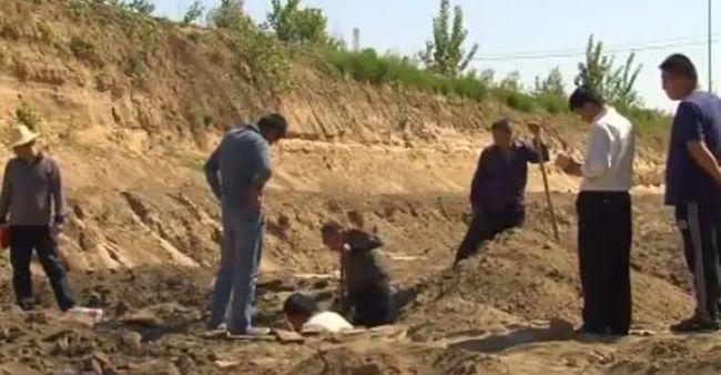 Háromezer éves cipruskoporsókat találtak
