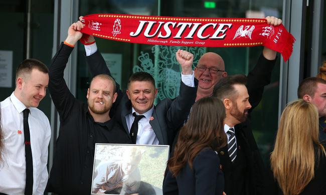 Huszonhét év után megtalálták a Hillsborough-tragédia felelősét