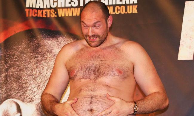 Fury Klicskónak: szégyen, hogy egy kövér ember legyőzött