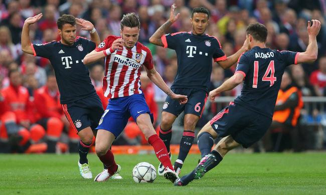 BL: a Bayern egygólos hátrányba került az Atlético otthonában